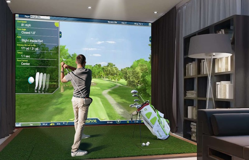 Getting Back in the Swing of Things with a Golf Simulator